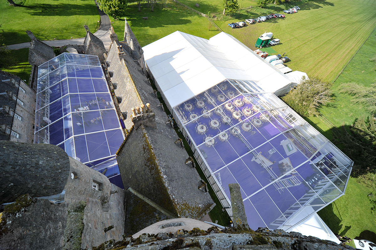 Freespan - Castle Fraser, Aberdeanshire